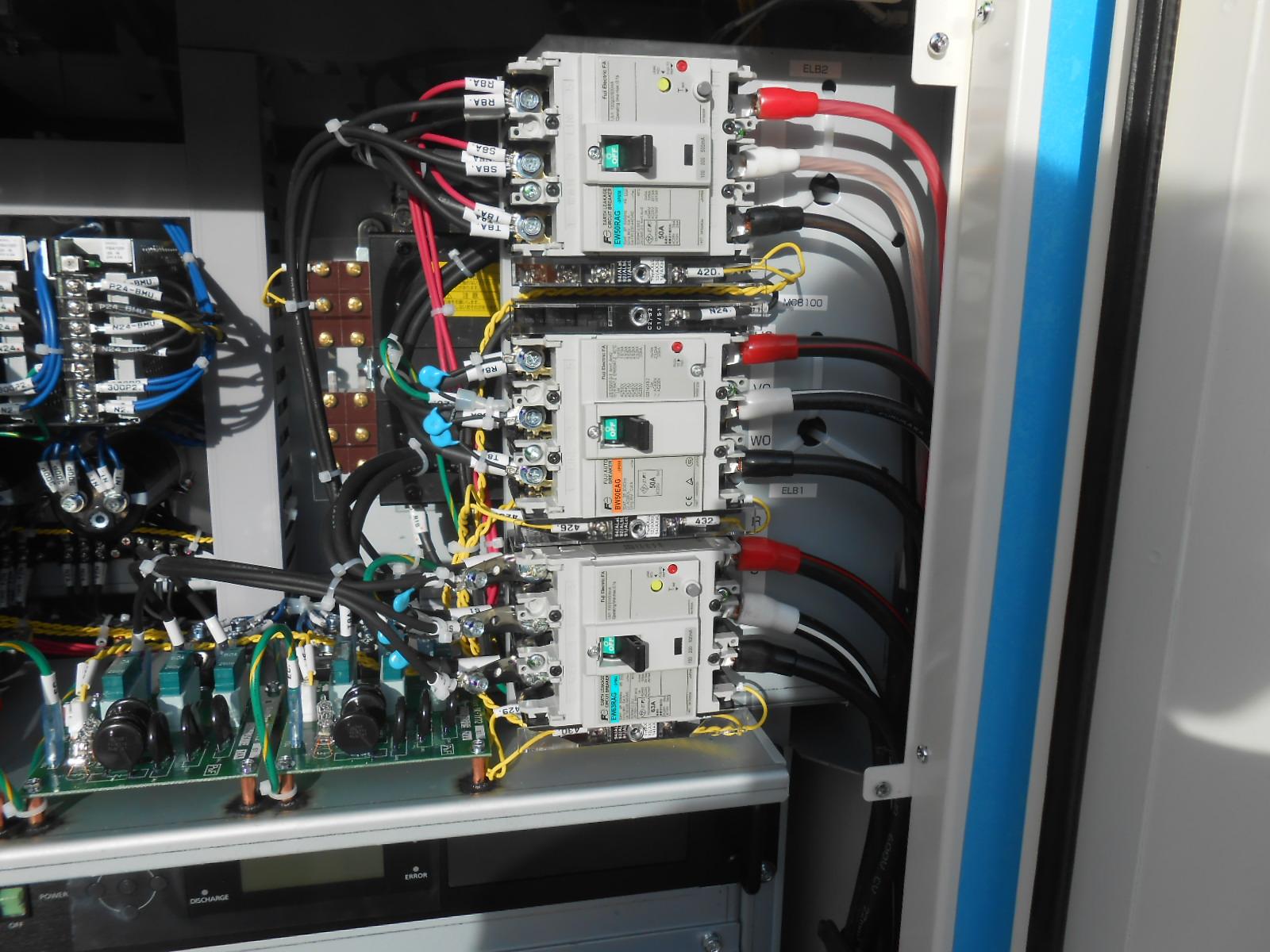 MMFの電気工事例、各種電気工事